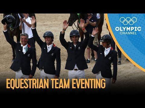 France Takes Equestrian Team Eventing Gold