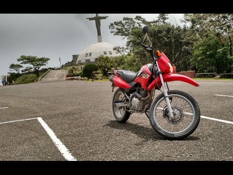 XR125L: Riding dirty with passenger - Off road Puerto Plata Parque Isabel De Torres