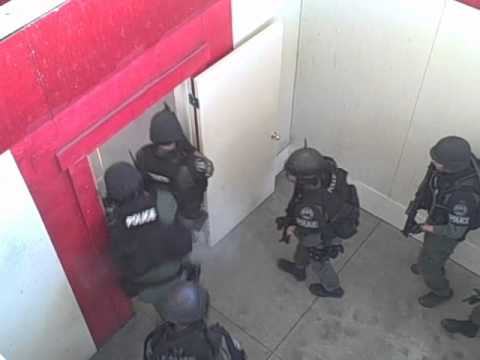 FBI SWAT Training In Sacramento 6-23-11