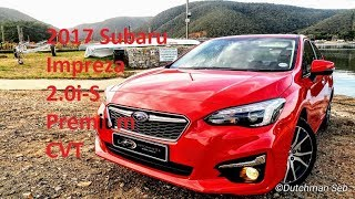 2017 Subaru Impreza 2.0i-S Premium Lineartronic CVT with EyeSight test drive review