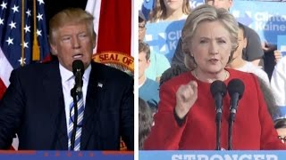 Trump and Clinton make final pitches to voters