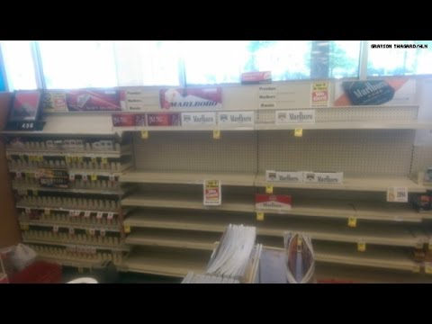 No more cigarettes at CVS