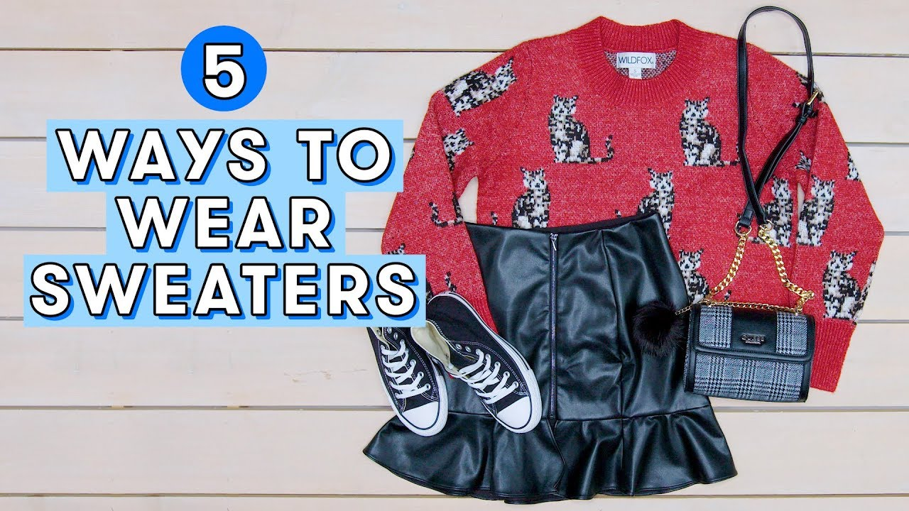 Cutest Sweater Outfit Ideas for Winter | Style Lab