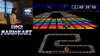 "Super Mario Kart - Rainbow Road - 18""79 (1 Lap) by meauxdal"