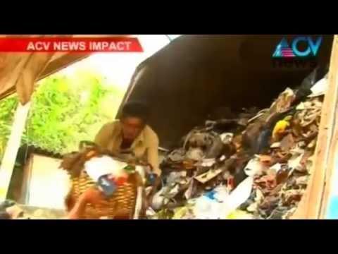 Thiruvananthapuram Corporation begins removing heaps of garbage from roadsides