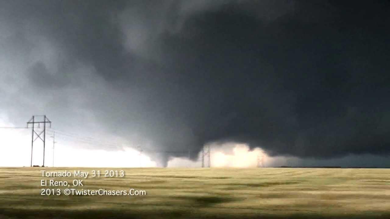 May 31 2013 El Reno Tornado Rockets Into Oklahoma City
