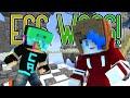 MINECRAFT EGG WARS GAMEPLAY | BABY REALLY? | GAMER CHAD & RADIOJH GAMES