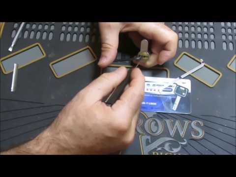 Взлом отмычками Mul-T-Lock MT5  [58] Mul-T-Lock MT5 picked and disassembled ()