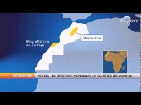 découverte du pétrole au maroc
