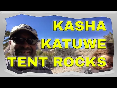 The Kasha-Katuwe Tent Rocks National Monument, New Mexico