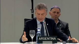 El presidente Macri expuso en la 25ª Conferencia de las Partes de la Convención Marco de Cambio Clim