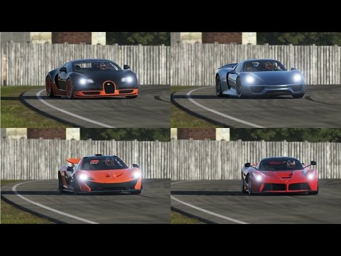 mclaren p1 vs laferrari vs spyder 918 assettocorsa. Black Bedroom Furniture Sets. Home Design Ideas