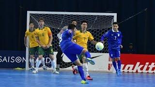 THAILAND vs AUSTRALIA: AFC Futsal Championship 2016 (Quarter Finals)
