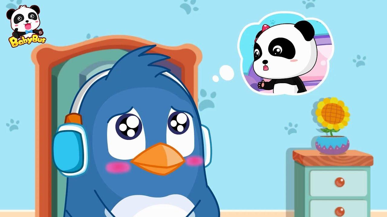 Utilizar El Baño Solo Dibujos Animados Infantiles Buenos Modales Para Niños Babybus