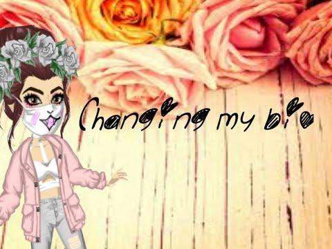 Changing My Bio!
