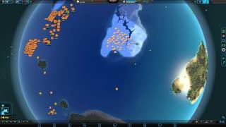 Planetary Annihilation 8 Player FFA - SO MUCH WATER