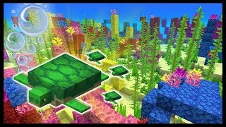 Minecraft 1.13 EXPLORING The Coral Reef! (Snapshot 13w10d)