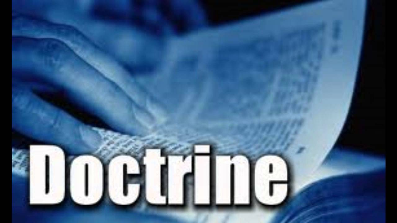 Image result for doctrine