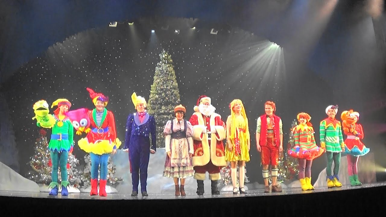 hersheypark christmas candylane the littlest tree full show 2015 youtube