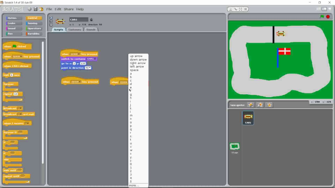 GAME ON! Scratch Masters Design Your Own Game   Saturday Kids