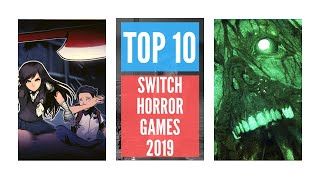 Top 10 Horror Games On Switch   Halloween 2019