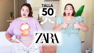 TALLA 50 Pruebo ropa de ZARA | Pretty and Olé