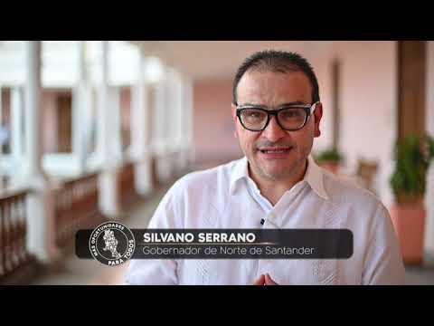 Gobernador Silvano Serrano, invita a los nortesantandereanos a su informe de gestión