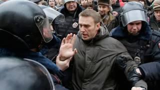 Директор школьникам:Вы экстремисты,как и Навальный.митинги в подержку Навального.