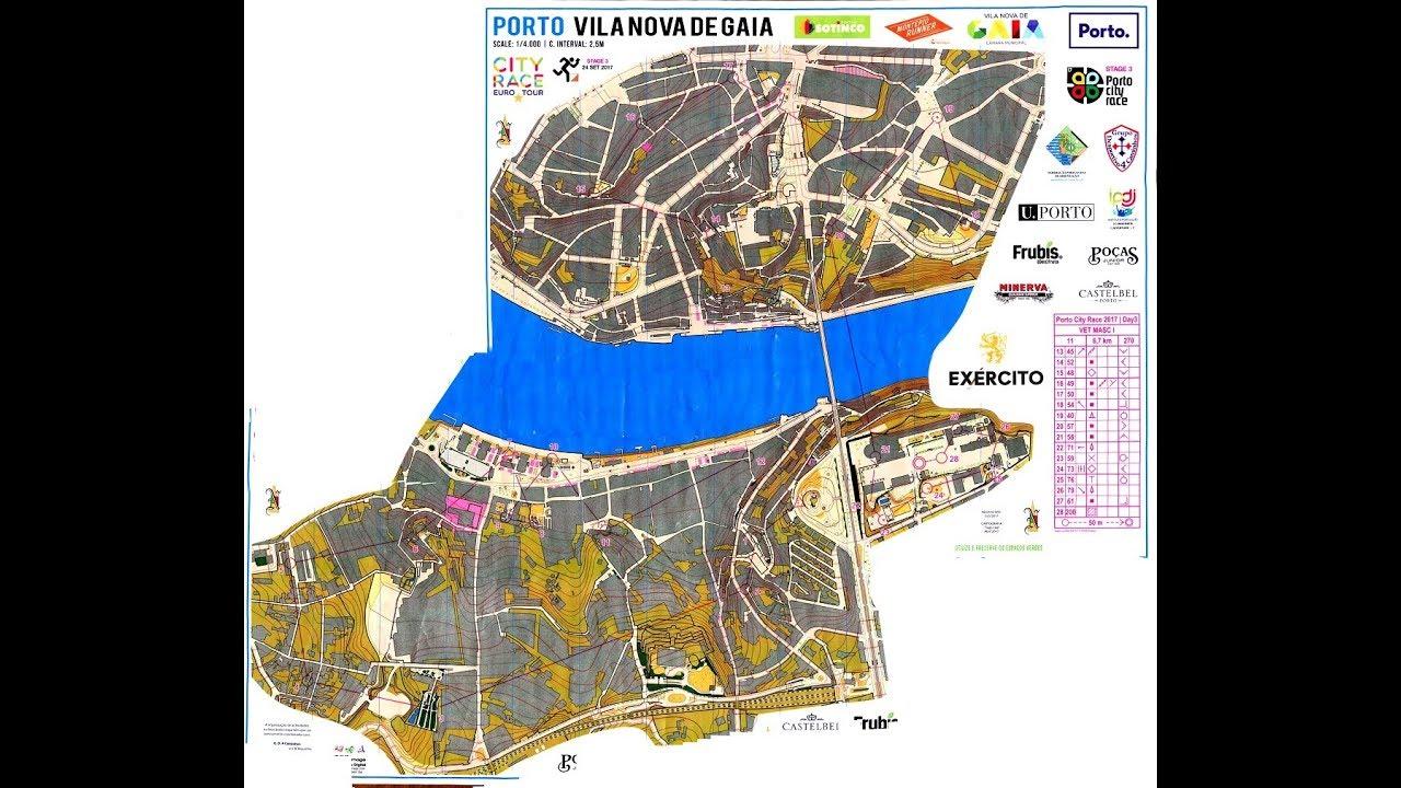 Porto City Race Orienteering 2017 Vila Nova de Gaia Porto 24