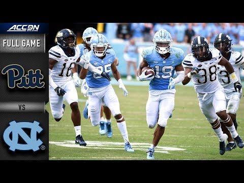 Pittsburgh Vs North Carolina Full Game | 2018 College Football