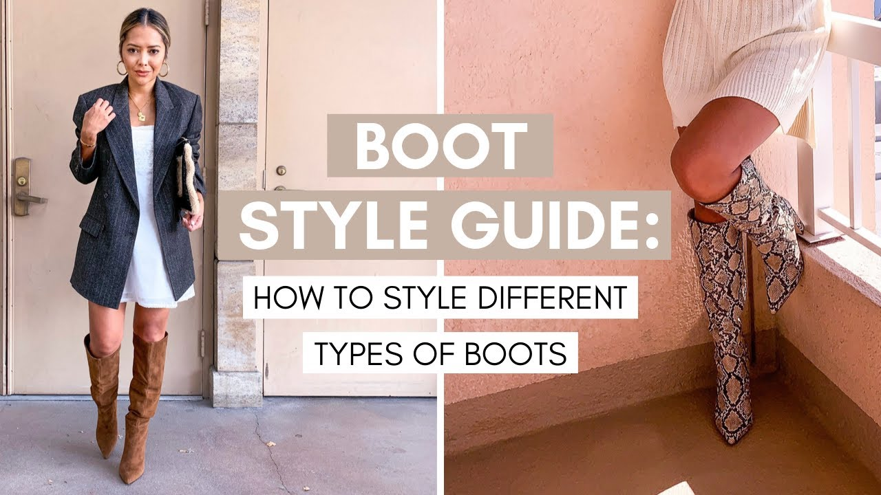 Boot Style Guide   How to Style Different Types Of Boots