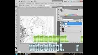 Видео урок №20 Photoshop. Фото карандашом за 1 минуту