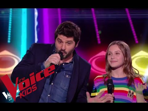 Kendji Girac - Pour Oublier | Patrick Fiori Et XX | The Voice Kids France 2018 | Finale