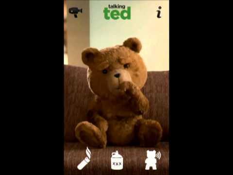 Игра говорящий медведь Тэд на андроид