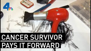 Breast Cancer Survivor's Foundation Provides Hair Options for Cancer Patients | NBCLA