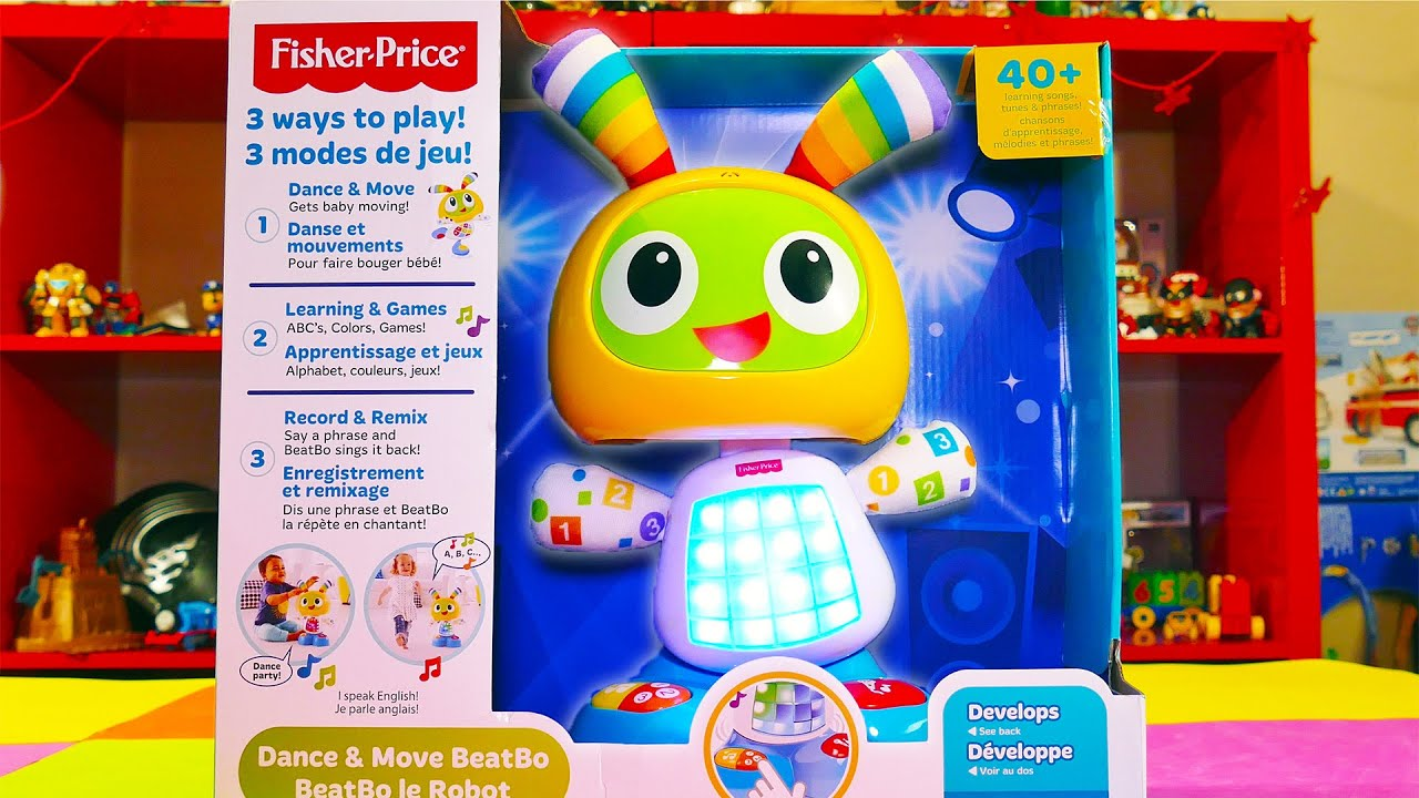 BeatBo Robot Toys for Infants Fisher Price Dance and Move BeatBo