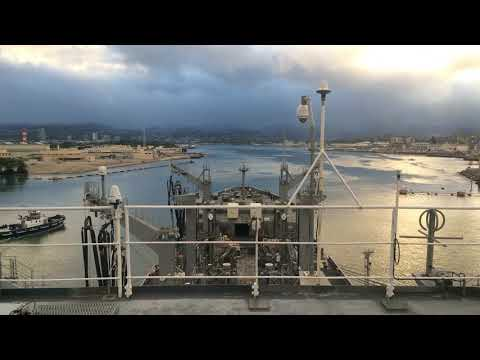 Time Lapse Pearl Harbor Sea and Anchor