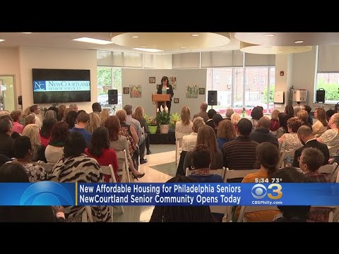 New Affordable Housing For Seniors In Northeast Philly