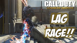 LAG RAGE - Advanced Warfare - Call of Duty Gameplay & Commentary