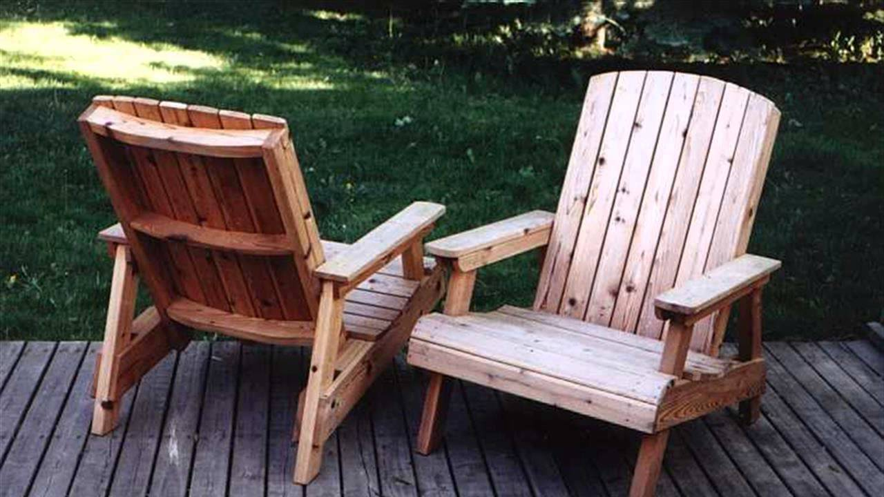 How To Build A Deck Chair Youtube