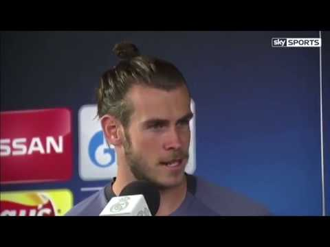 Gareth Bale with  an honest interview on his injury and the game on Saturday