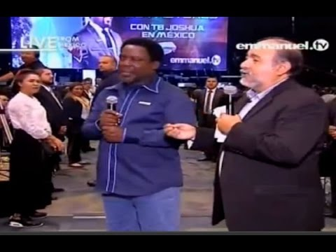 Pastor's Conference With Prophet TB Joshua In Mexico 2015 (Part 4/6). Emmanuel TV