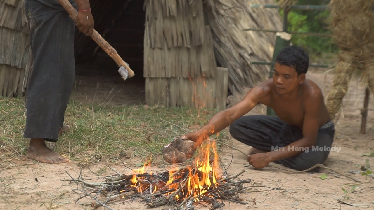 Survival Builder:  Finding Yam Cook And Eat