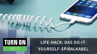 Life-Hack: Das Do-it-yourself-Spiralkabel - HELP - 4K