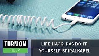 Life-Hack: Das Do-it-yourself-Spiralkabel - HELP - 4K