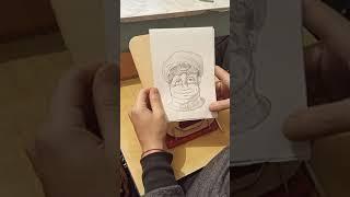 Обман зрения Простой рисунок карандашом Тик Ток - Nehudojnik4