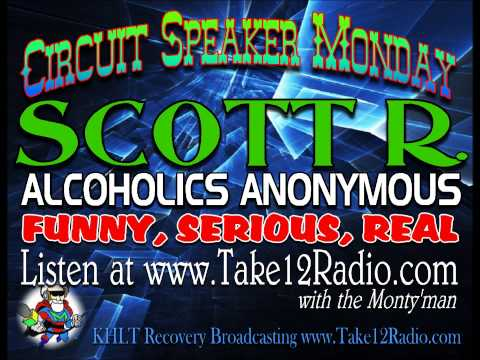 Actor & Comedian Scott R. A.A. Circuit Speaker