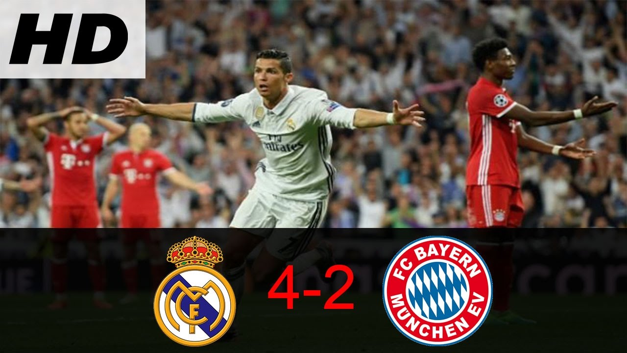 Wow Highlight Cuplikan Goal Real Madrid Vs Bayern