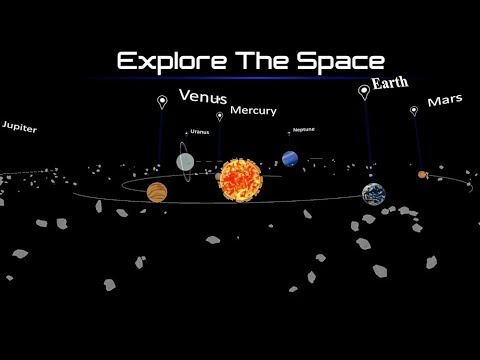 3D Solar System App for Android