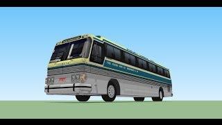 SketChup tutorial PART -1  como modelar um onibus CMA-SCANIA K-113 CL 360